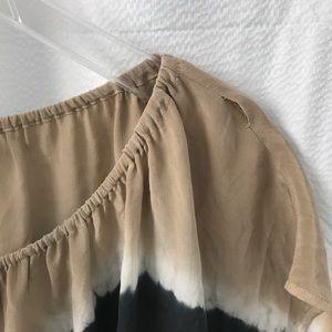 Joie Tops - Joie Silk Blouse Top Tie Dye Career Short Sleeve